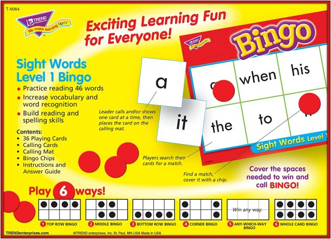 Practice Spelling With a Bingo Game